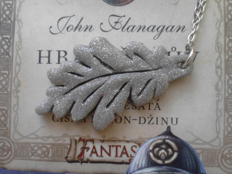 Rangers apprentice necklace oak leaf by gabybrod on deviantart rangers apprentice necklace oak leaf by gabybrod aloadofball Choice Image