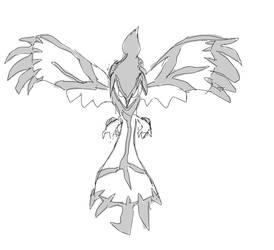 Yveltal Sketch [Prize]