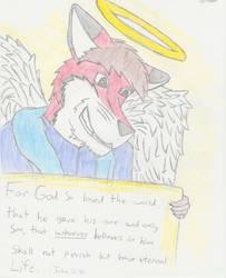 Furry Christian by Foxstan-the-Otterfox