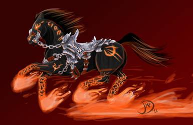 Ruin, War's Steed -Darksiders-