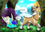 Meeting Tyandaga Contest Entry by CyberKiron