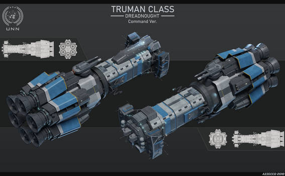 Truman Class Dreadnought Command Ver [The Expanse]