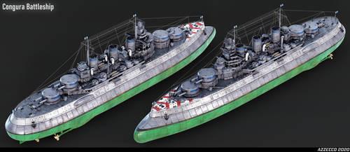 Congura Battleship by Azzecco