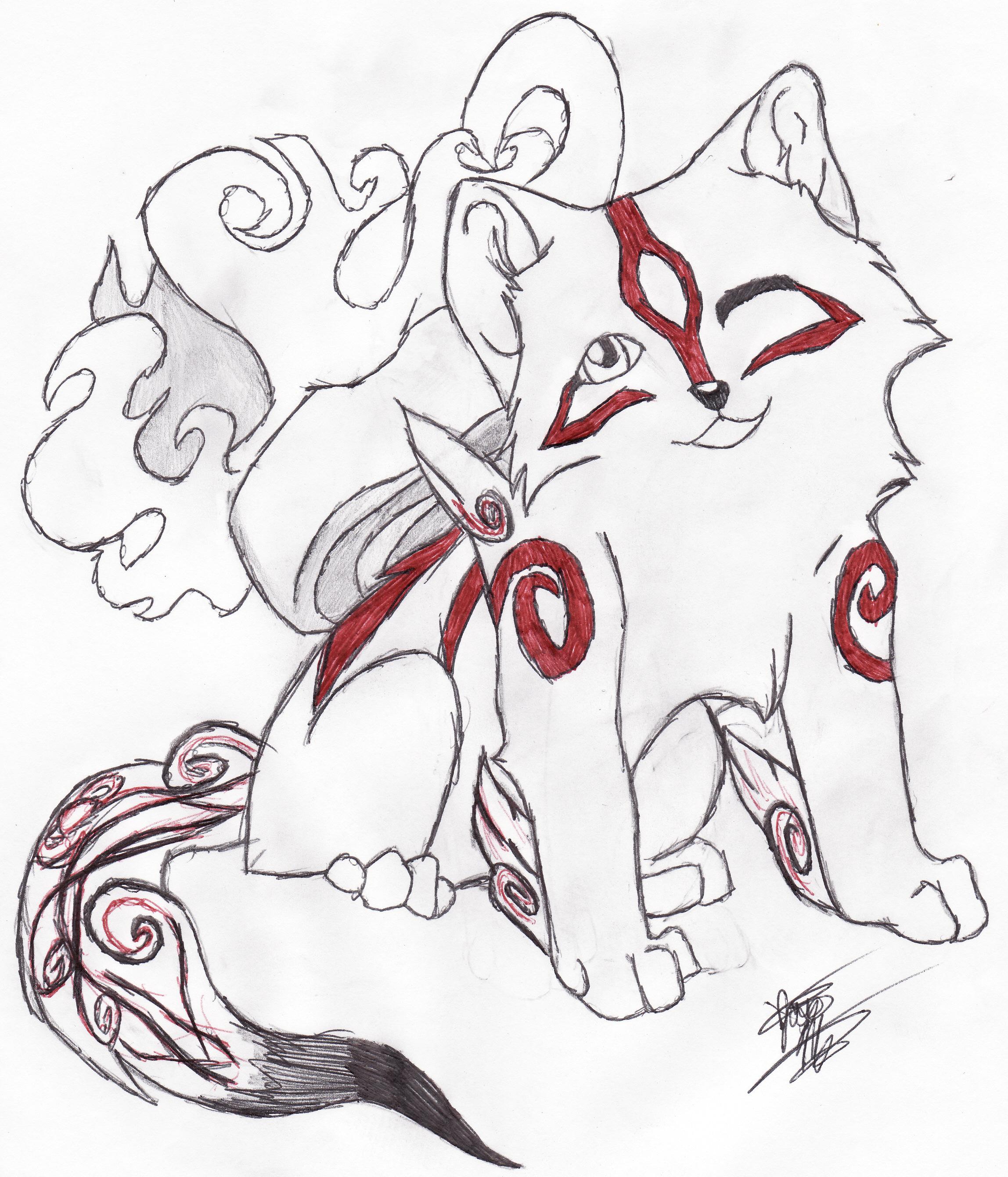 chibi amaterasu by okami-lover1234 on deviantART