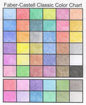 Faber-Castell Color Chart