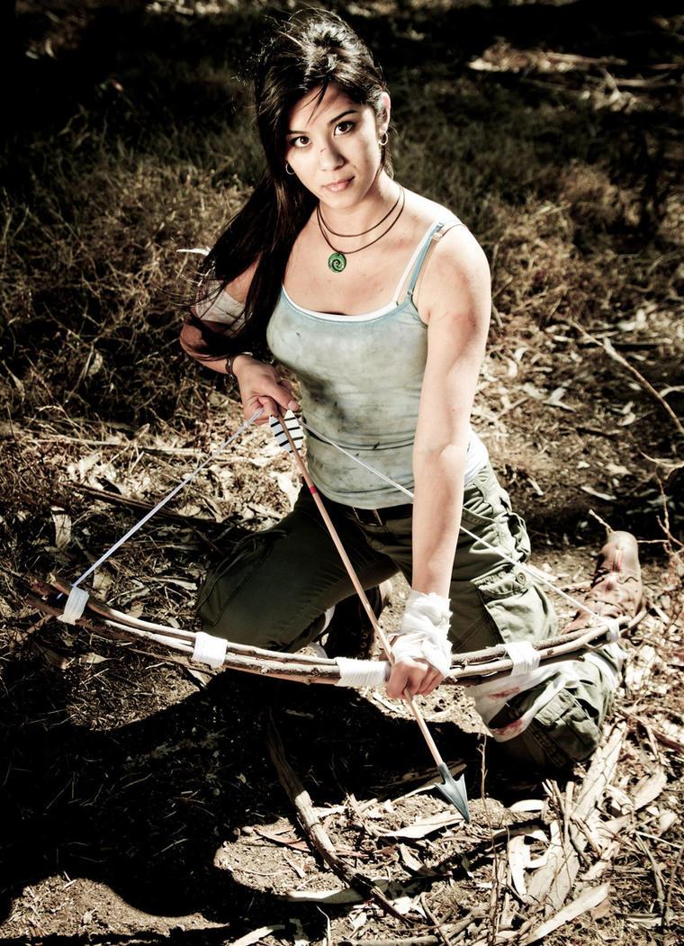 Lara Croft Cosplay : Tomb Raider Reborn by xtifalockheart