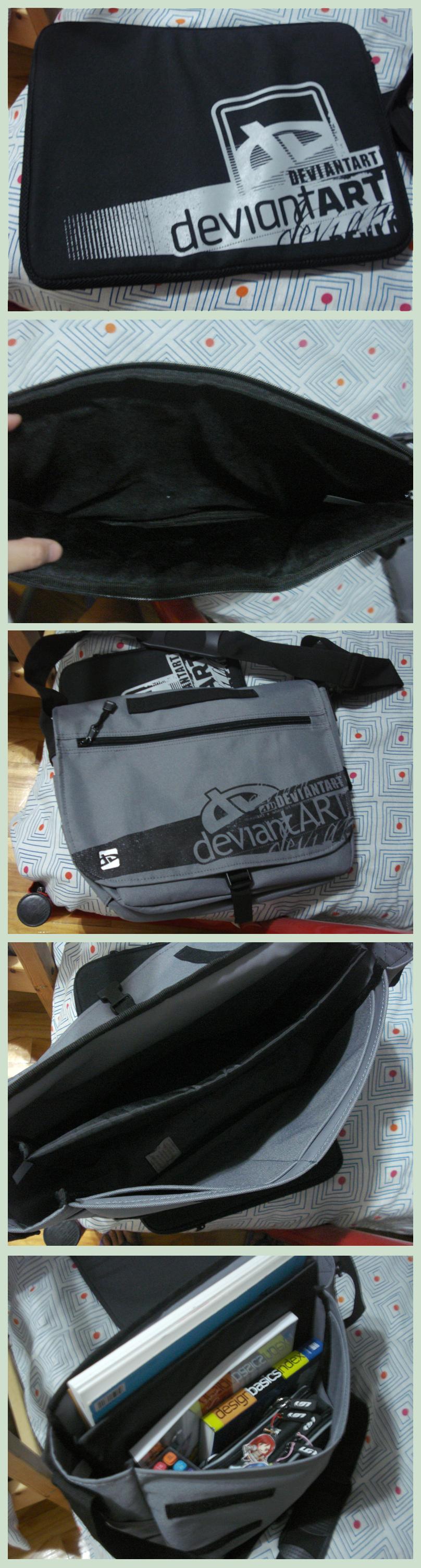 DA Messenger Bag by HanuWabbit