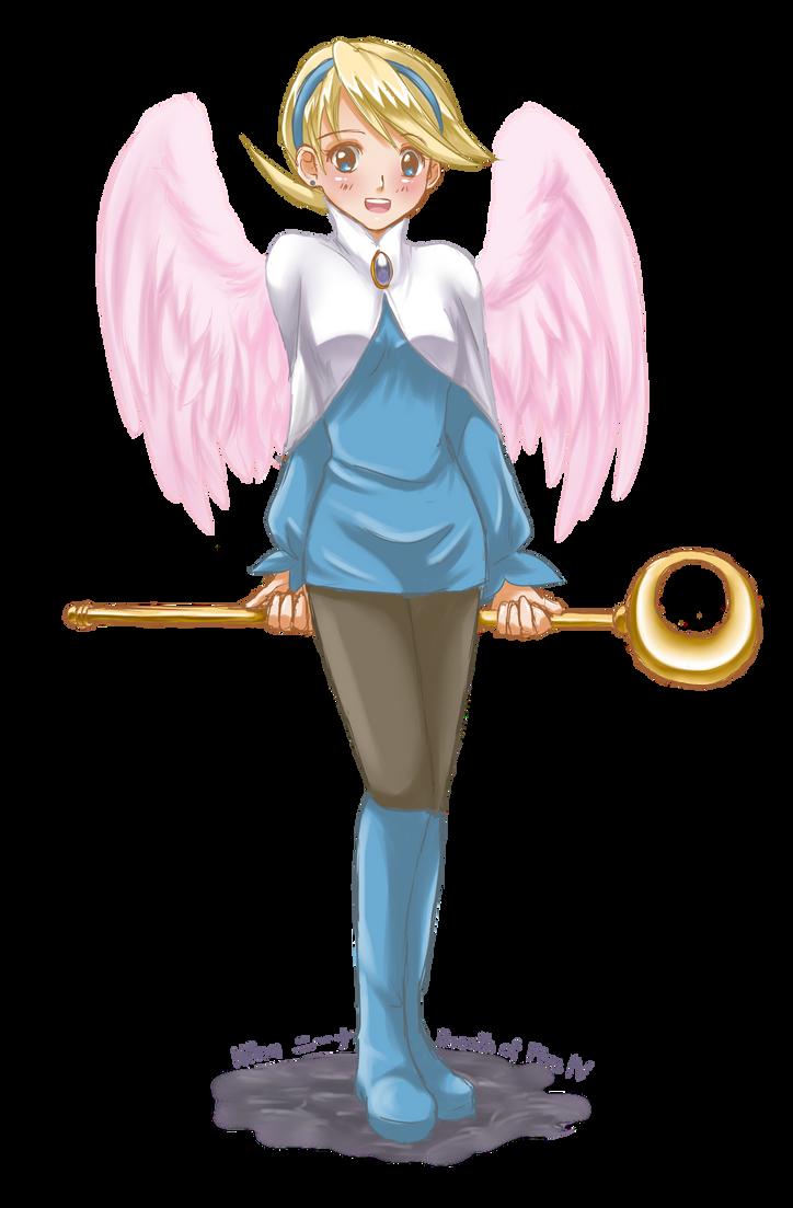 BoF4: Wyndian Princess by HanuWabbit