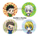 Hunter x Hunter Buttons