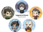 Legend of Korra Buttons