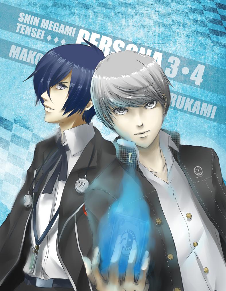Persona 3-4 by HanuWabbit