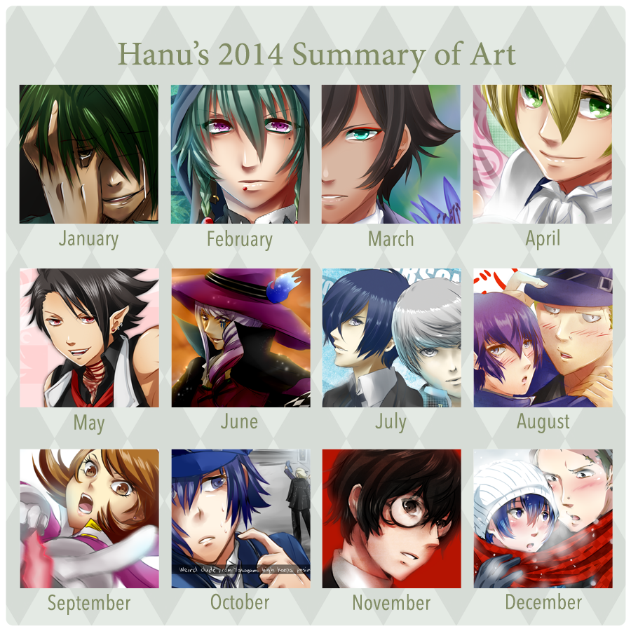 Summary of Art: 2014