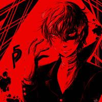 P5: The Phantom Thief by HanuWabbit