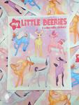 My Little Pony Inspired Deer Sticker Sheet by MugwumpStudios