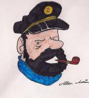 Captain Haddock by allenamin