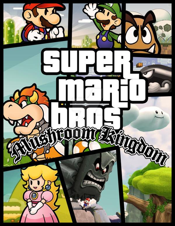 Super Mario Mushroom Revolution Combinations