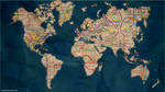 Rail Map of the World