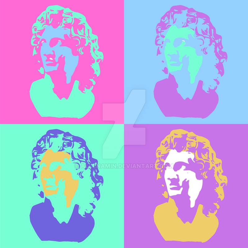 Warhol Vaporwave Aesthetic by allenamin