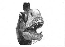 cryolophosaurus by maiorz