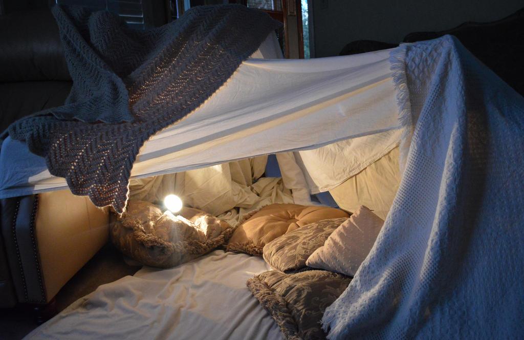 Blanket Fort By Intrgalactcbnnyfluff On Deviantart