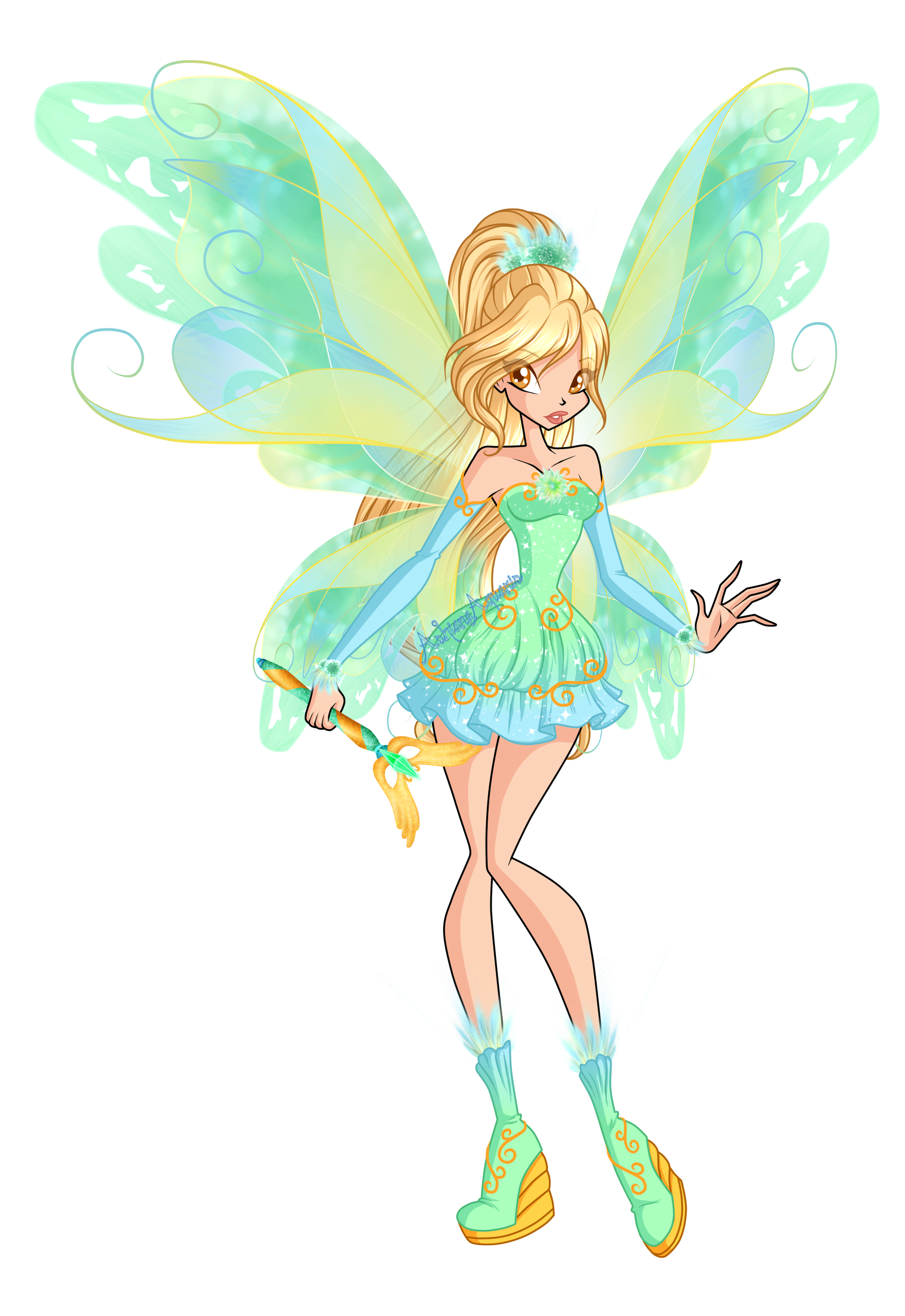 Winx 6: Daphne Mythix by Gerganafen on DeviantArt