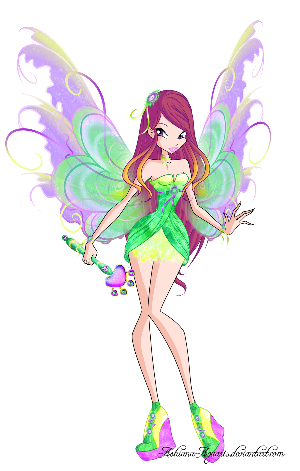 Winx 6 roxy mythix by gerganafen on deviantart - Winx magic bloomix ...