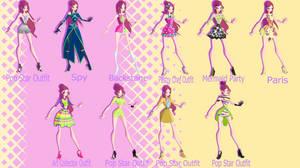 World of Winx 2: Roxy's wardrobe