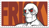 Killface + Frisky Dingo Stamp by deviantinvader