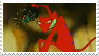 Courage T.C.D. - Katz Stamp by deviantinvader
