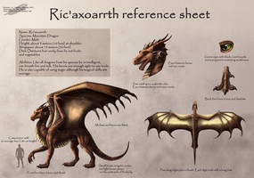 Ric'axoarth reference sheet by Red-IzaK