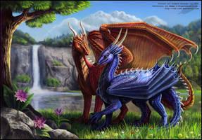 Dragon Lilies by Red-IzaK