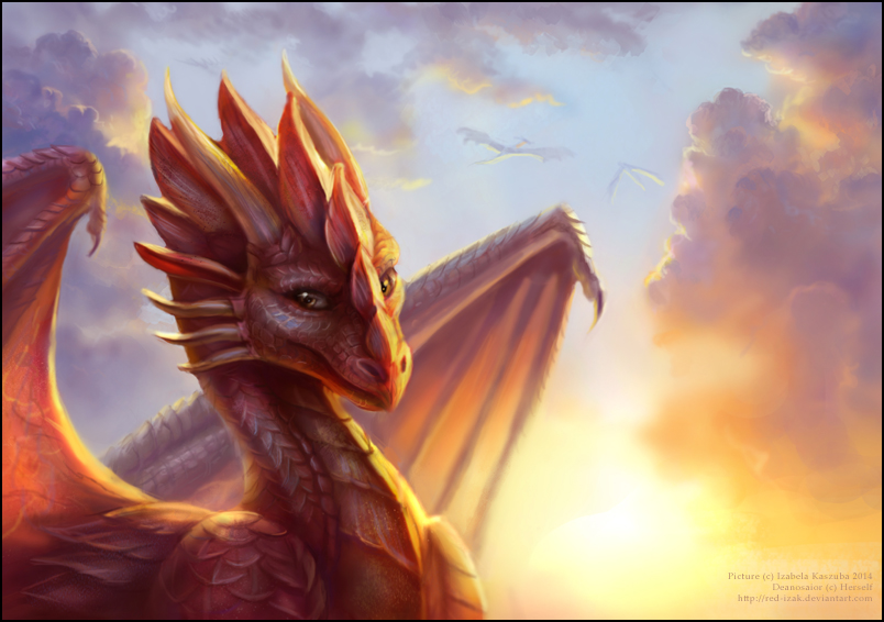 how high do dragons fly by red izak on deviantart