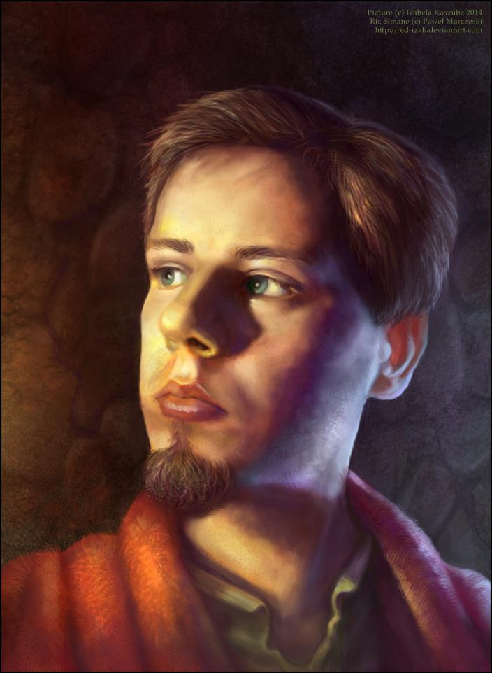 Mage portrait by Red-IzaK