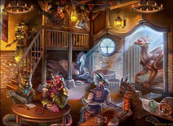 Tavern by Red-IzaK