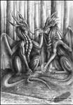 Curious dragoons