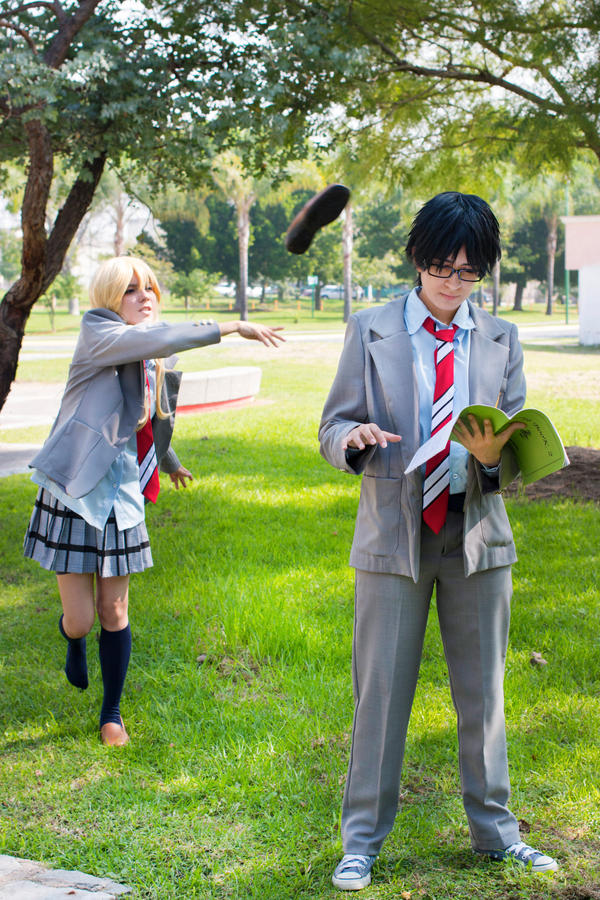 Your Lie in April by mina-K-ta