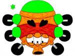Bowser's paint star guardians-Green