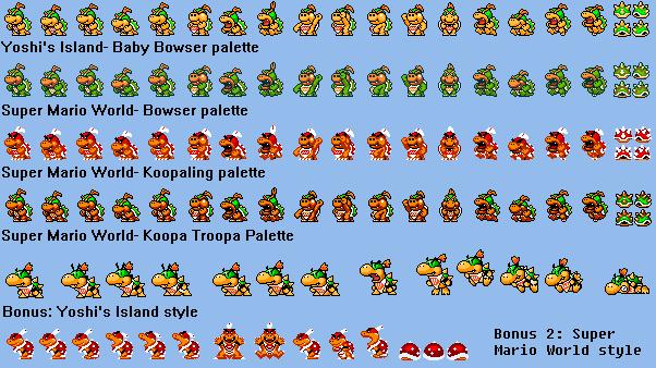 Super Mario Maker Bowser Jr Sprite Ideas By Iwatchcartoons715 On Deviantart