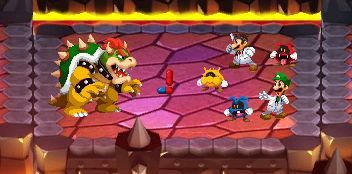 Bowser's Inside Story- Dr Mario Bros fight by Iwatchcartoons715