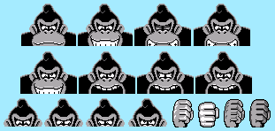 Donkey Kong 94- Giant DK modernised by Iwatchcartoons715