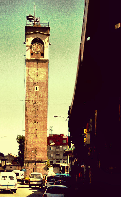 Adana Saat Kulesi by qimoo