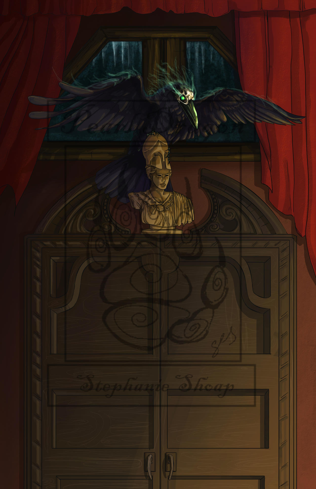 Souvent Edgar Allan Poe's The Raven by pearldragon145 on DeviantArt NV26