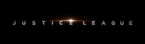 Justice League Title Logo