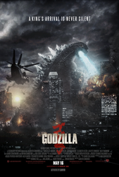 Godzilla (2014) - Theatrical Poster # 2 by CAMW1N