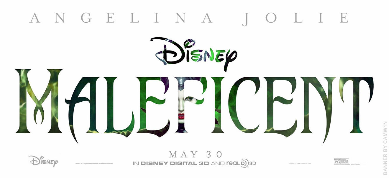 Maleficent (2014) - Text Banner by CAMW1N