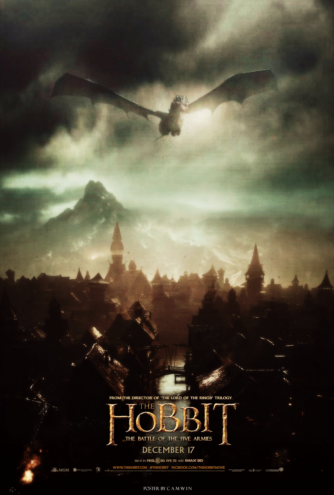The Hobbit: The Battle of the Five Armies Poster by CAMW1N ...