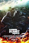 Dawn of The Planet of The Apes (2014) - Poster
