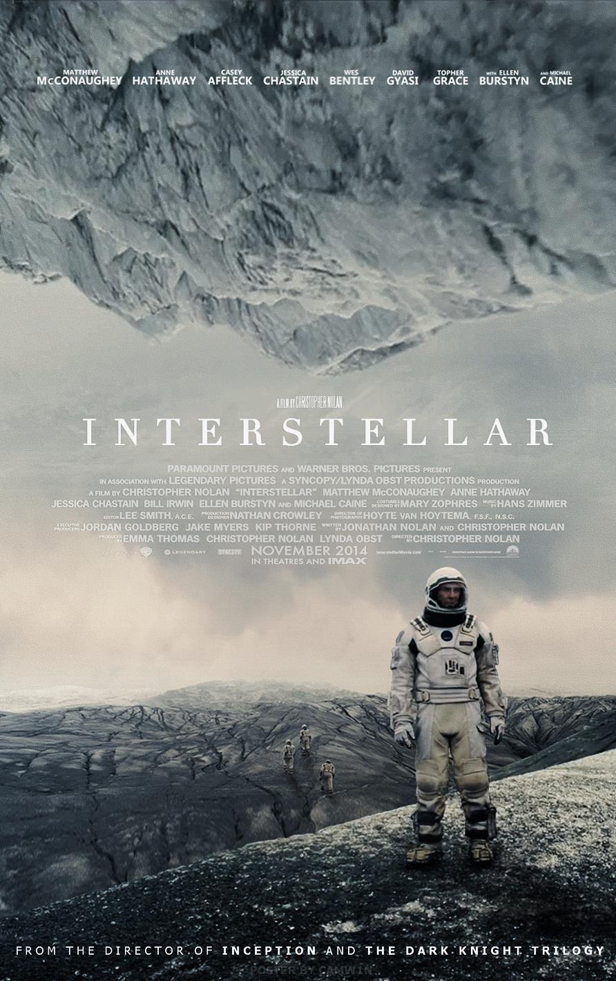Interstellar (2014) - Poster # 2 by CAMW1N on DeviantArt  Interstellar (2...