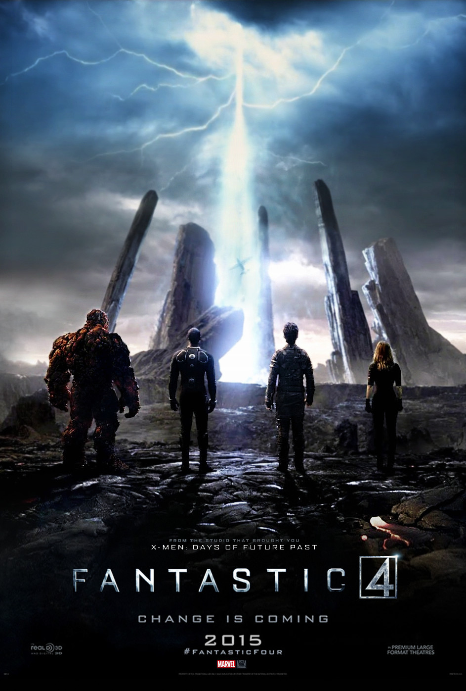 Fantastic Four - Poster (2015) by CAMW1N on DeviantArt