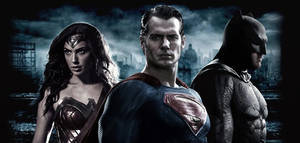 Batman V Superman - Trinity Wallpaper
